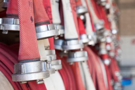 fire hoses: fire hoses