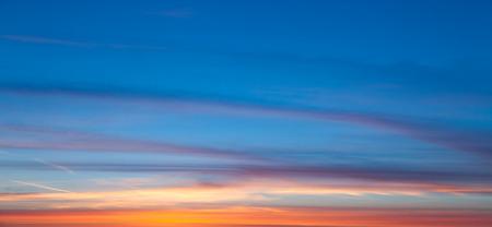 cielos abiertos: Sunset panorame