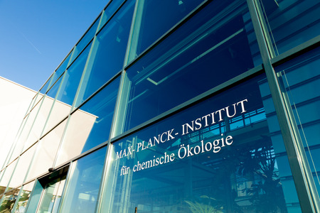 proteomics: JENA, GERMANY - MAY, 08, 2011: Max Planck Institute for Chemical Ecology is located on Beutenberg Campus[1] in Jena, Germany. It was founded in March 1996 and is one of 80 institutes of the Max Planck Society Editorial