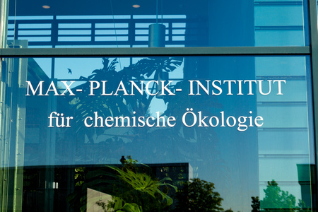 planck: JENA, GERMANY - MAY, 08, 2011: Max Planck Institute for Chemical Ecology is located on Beutenberg Campus[1] in Jena, Germany. It was founded in March 1996 and is one of 80 institutes of the Max Planck Society Editorial