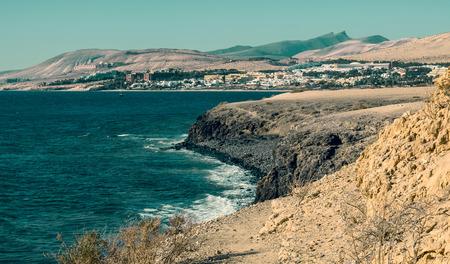 fuerteventura: Fuerteventura rock  panorama