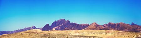 stone volcanic stones: Fuerteventura panorama Stock Photo