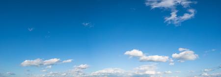 sky cloud: cloud sky panorame Stock Photo