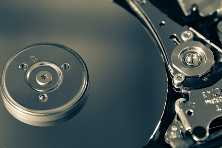 hard component: Disassembled hdd