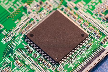 circuito integrado en el PCB