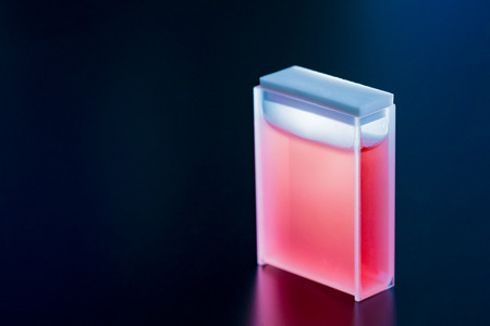 Quartz and Glass Cuvettes  small square tube  designed to hold samples for spectroscopic experiments