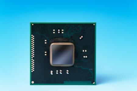 electrical part: quantum computer IC.   prototype  concept chip