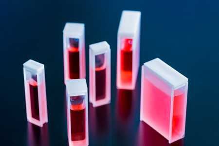 assays: Quartz and Glass Cuvettes  small square tube  designed to hold samples for spectroscopic experiments
