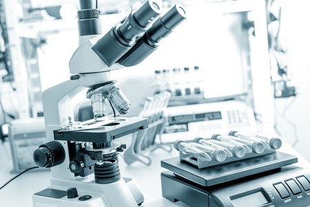 scientific equipment: Devices in microbiological laboratory