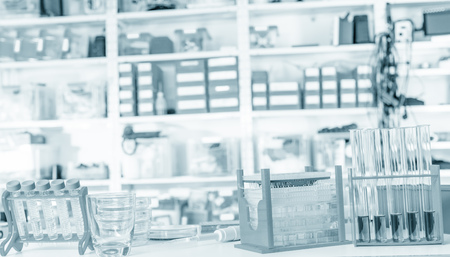 criminology: devices in criminological laboratory Stock Photo