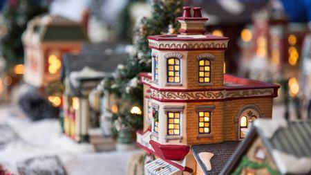 christmas house: Christmas toy house