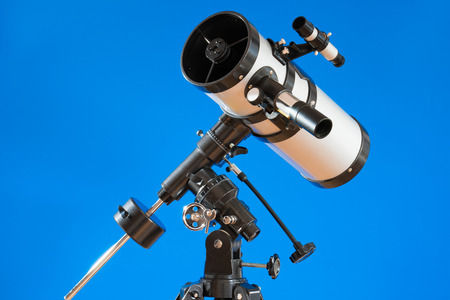 astronomical: amateur telescope for astronomical observations