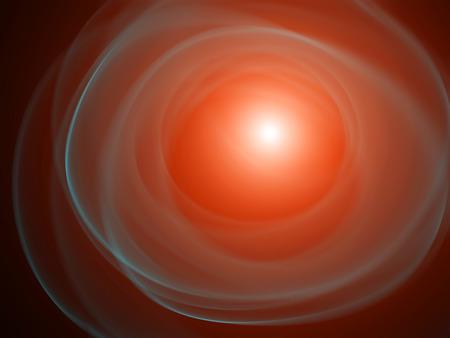 explosion of a supernova Stock Photo