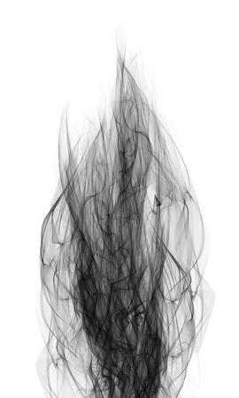 abstract smoke: Abstract illustration of smoke and fire