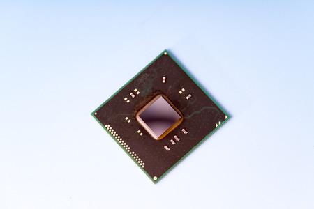 The concept of the development of modern light-sensitive CCD sensor Stock Photo