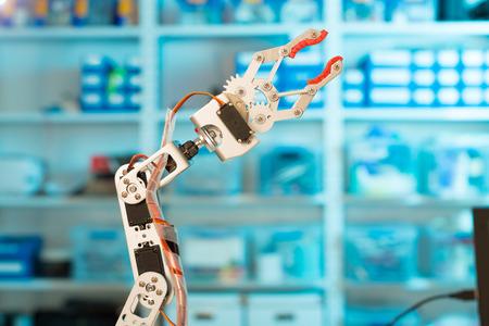 manipulator: Model of industrial robot manipulator, robot arm