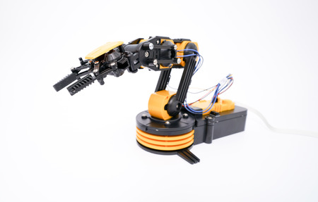 engineering tool: industrial robot arm model