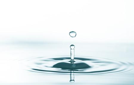 水液滴のスプラッシュ