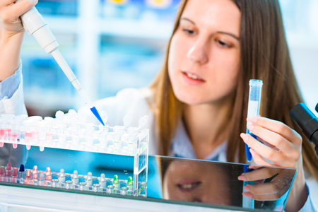 pcr: Stem cell research for the treatment of cancer Stock Photo