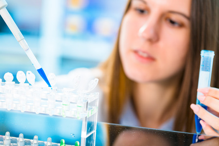 Stem cell research for the treatment of cancer Stock Photo