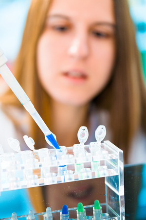 がんの治療のための幹細胞の研究 写真素材
