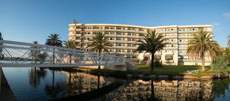 bellevue: Alcudia Mallorca, Spain - October 17, 2016: Hotel BelleVue Club Editorial