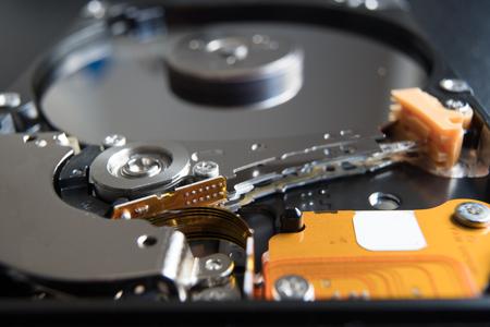 Open hard drive HDD