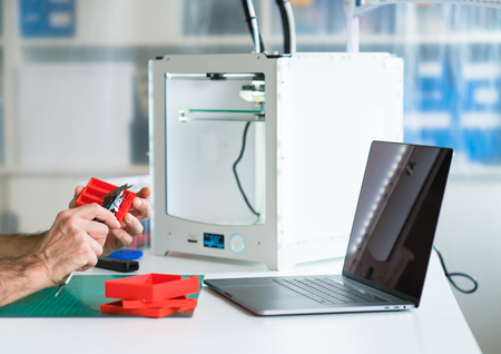 development of a model device for printing on a 3D printer