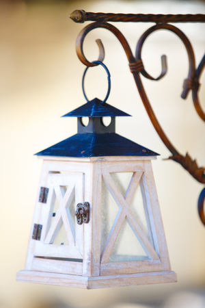 Vintage street lamp Stock Photo