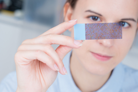 Nanotechnology coating for glass Zdjęcie Seryjne