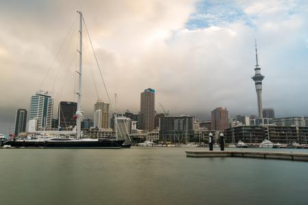 Day Skyline of Auckland. New Zealand