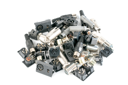 different radio electronic components