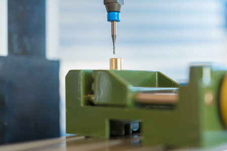 Processing of the plastic workpiece on CNC milling machine