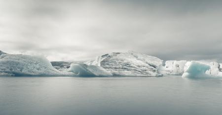 iceberg in ice lagoon - Jokulsarlon, Iceland