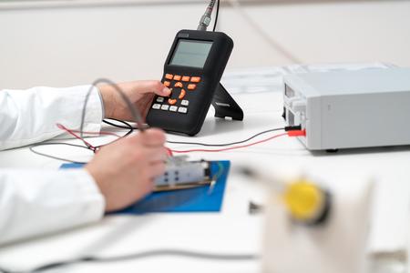 Debugging of electronic circuit Board