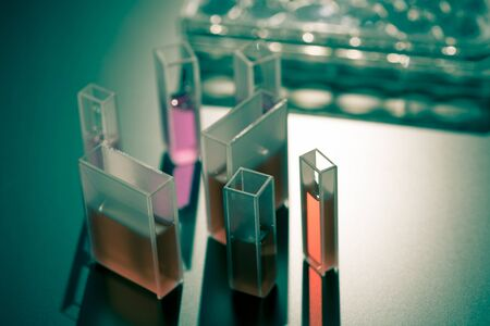 Quartz cuvettes for Chromatography and spectrophotometry in the study of liquids