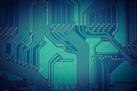Un circuito stampato