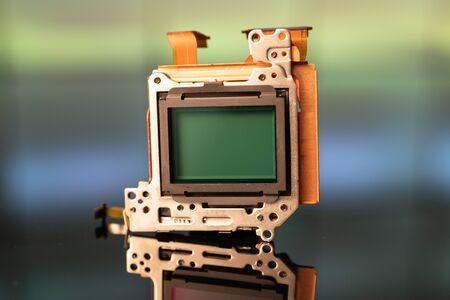 modern CMOS  camera Image sensor. digital dslr camera cmos sensor removed from camera. 写真素材