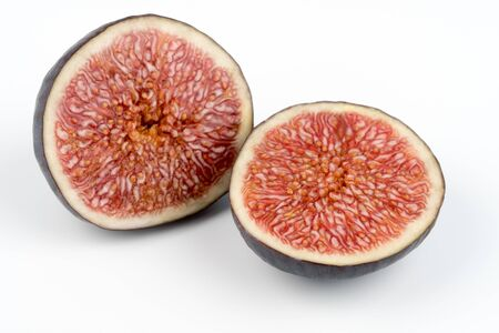 Cuted fig fruit Stockfoto