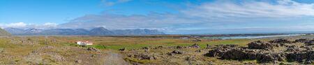 Iceland Landscape Panorama
