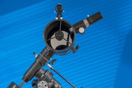 Amateur astronomical telescope Stockfoto