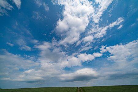 Day sky panorama Banco de Imagens