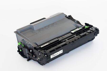 Laser printer drum and toner cartridge