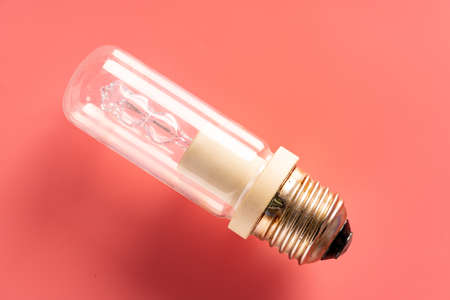 A variety of lighting bulb. Retro incandescent, halogen and mercury 写真素材 - 154994192