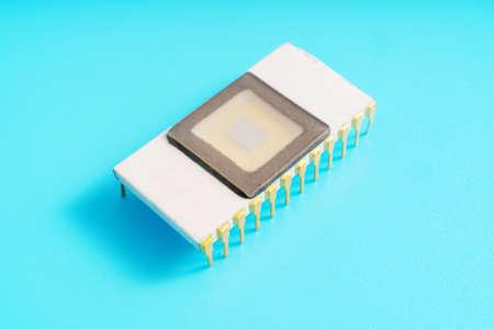 Ceramic ROM memory chip Archivio Fotografico