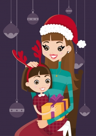 Christmas gift for my children Vector