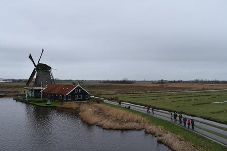 zaandam: Zaanse Schans mills, Zaandam, Netherlands