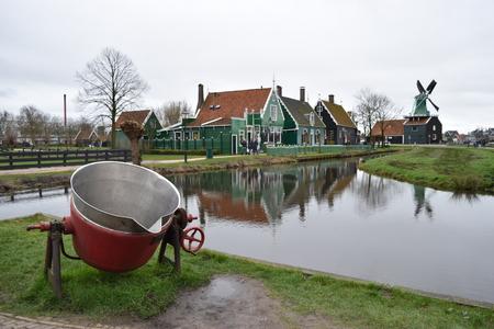 Zaanse Schans, Zaandam, Netherlands Stock Photo