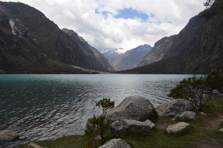 ancash: Lake Chinancocha, District of Yungay, Ancash, Peru