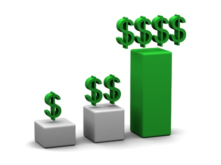 Sales Graphic Reklamní fotografie